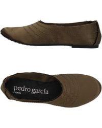 Pedro Garcia Ballet Flats - Green