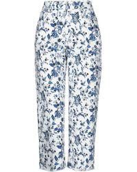 Liu Jo Denim Trousers - White