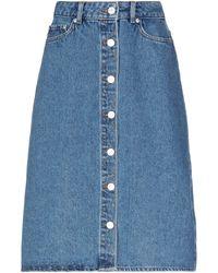WOOD WOOD Denim Skirt - Blue