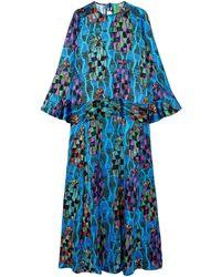 Rianna + Nina Long Dress - Blue