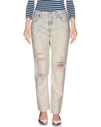 Denim & Supply Ralph Lauren Denim Trousers - White