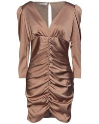 SADEY WITH LOVE Short Dress - Brown