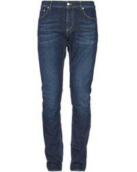 Alexander McQueen Pantalon en jean - Bleu