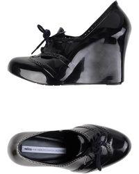 Melissa Lace-up Shoe - Black