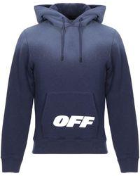 Off-White c/o Virgil Abloh Sweatshirt - Blau