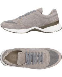 Brunello Cucinelli - Panelled Quilted Suede Trainers - Lyst