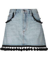 Marc Jacobs Denim Skirt - Blue