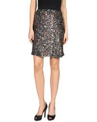 Rodarte Knee Length Skirt - Black