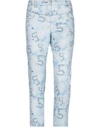 ELISA CAVALETTI by DANIELA DALLAVALLE Denim Trousers - Blue