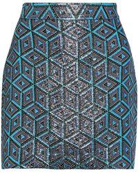 MILLY Minifalda - Azul