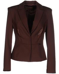 Betty Blue Suit Jacket - Brown