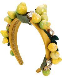 Dolce & Gabbana Accessori per capelli - Giallo