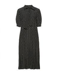 Celine 3/4 Length Dress - Black