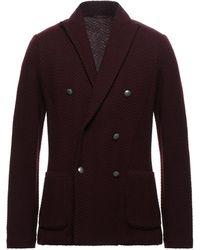 Gran Sasso Suit Jacket - Purple