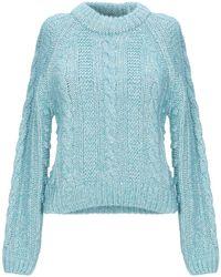 ALEXACHUNG Pullover - Bleu