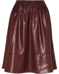 Tibi Knee Length Skirt - Multicolour