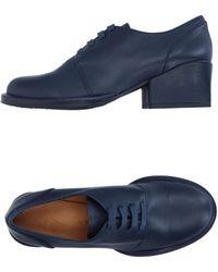Audley Lace-up Shoe - Blue