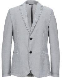 Daniele Alessandrini Homme Suit Jacket - Grey
