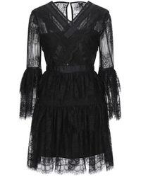 No Secrets Short Dress - Black