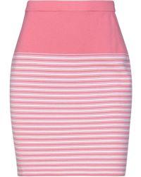 Cruciani Midi Skirt - Pink
