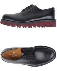 Valentino Garavani Chaussures à lacets - Noir