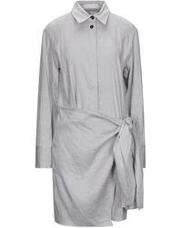 Proenza Schouler Robe courte - Gris
