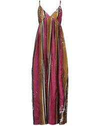 Uma Wang Robe longue - Rouge
