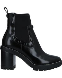 Tory Burch Ankle Boots - Black
