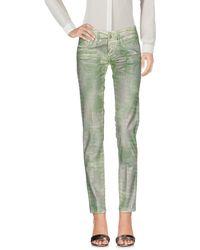 2W2M Pantalone - Verde