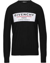 Givenchy Label Jumper - Black