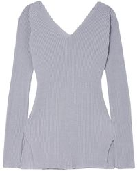 Low Classic Pullover - Gris