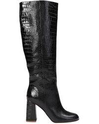 Bianca Di Knee Boots - Black