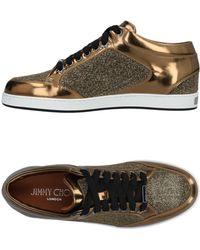 Jimmy Choo Sneakers & Tennis basses - Métallisé