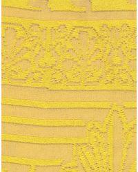 VIKI-AND Midi Skirt - Yellow