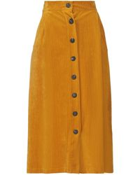 Harris Wharf London Midi Skirt - Multicolour