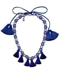 Shourouk Necklace - Blue