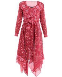 DIESEL - Knielanges Kleid - Lyst