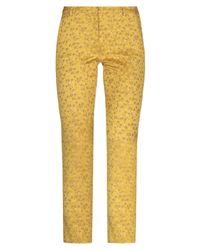 OAMC Pantaloni cropped - Giallo