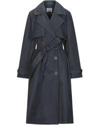 Gloverall Overcoat - Blue
