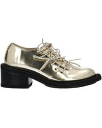 Simone Rocha Lace-up Shoes - Metallic