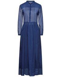 Niu Long Dress - Blue