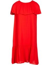 Vanessa Seward Short Dress - Red