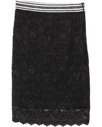 Guess Midi Skirt - Black