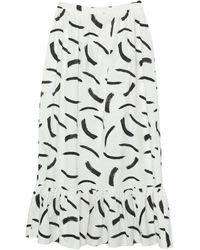 Glamorous Long Skirt - White