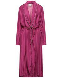 Forte Forte Dressing Gown Or Bathrobe - Purple