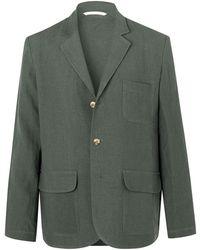 De Bonne Facture Suit Jacket - Green