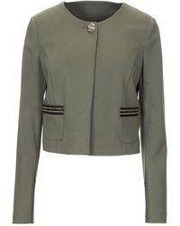 Class Roberto Cavalli Suit Jacket - Green