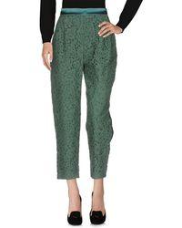 Maria Grazia Severi Pantalon - Vert