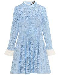 Topshop Unique Short Dress - Blue