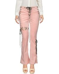 Angel Chen Casual Trouser - Pink